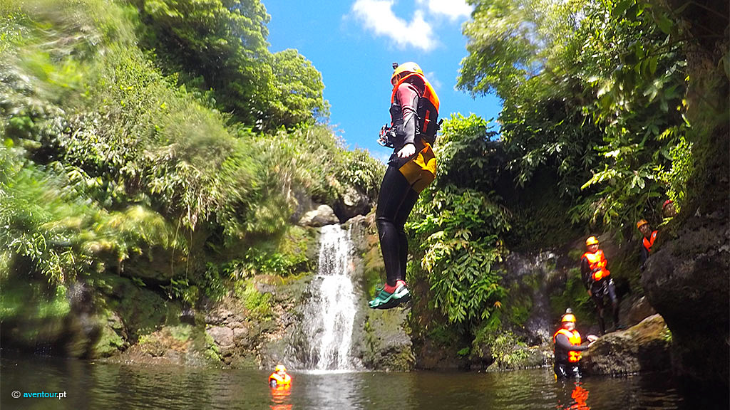 Canyoning in Sao Jorge Island - Azores