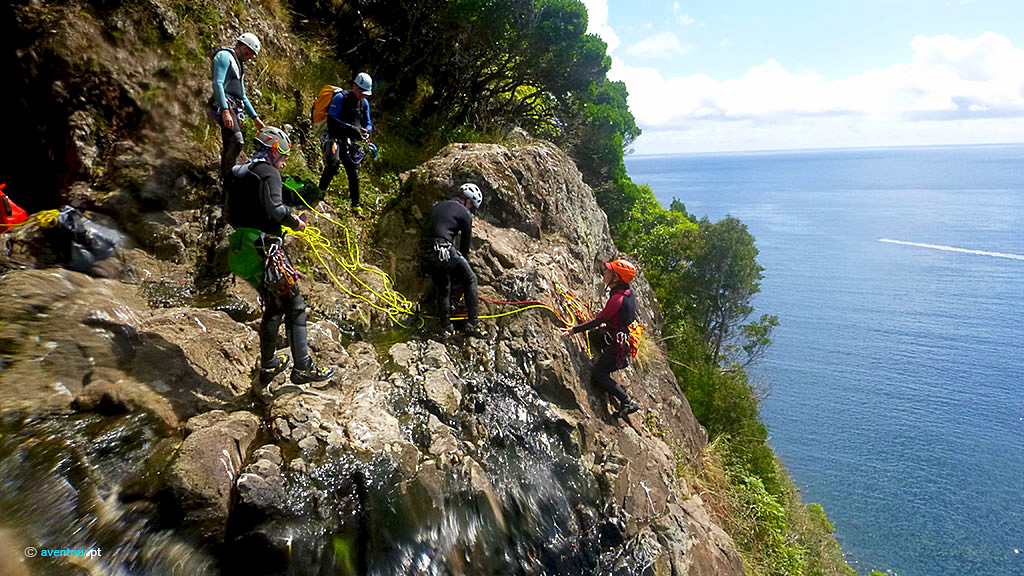 CAnyoning Advanced in Sao Jorge Island - Azores