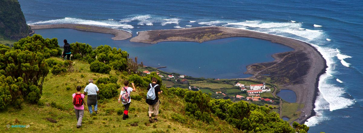 Land Activities in Sao Jorge Islnd in Azores