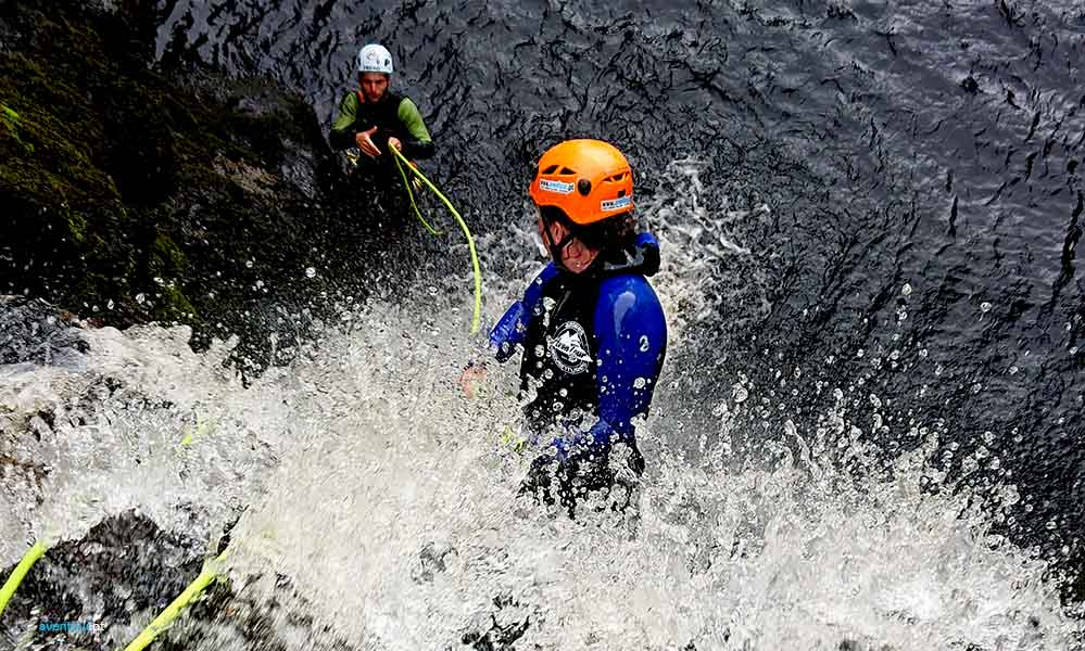 Canyoning in Azores