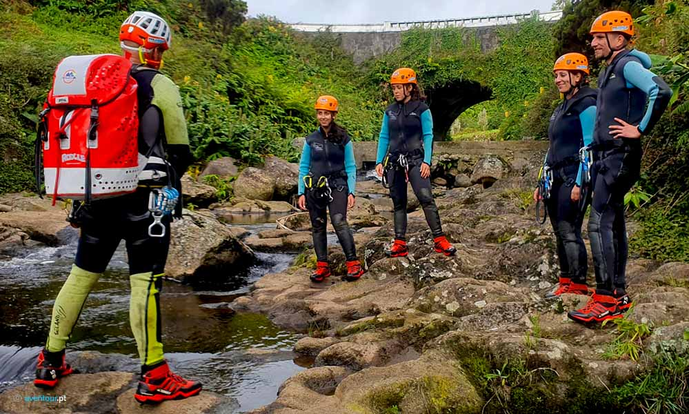 Canyoning Azores