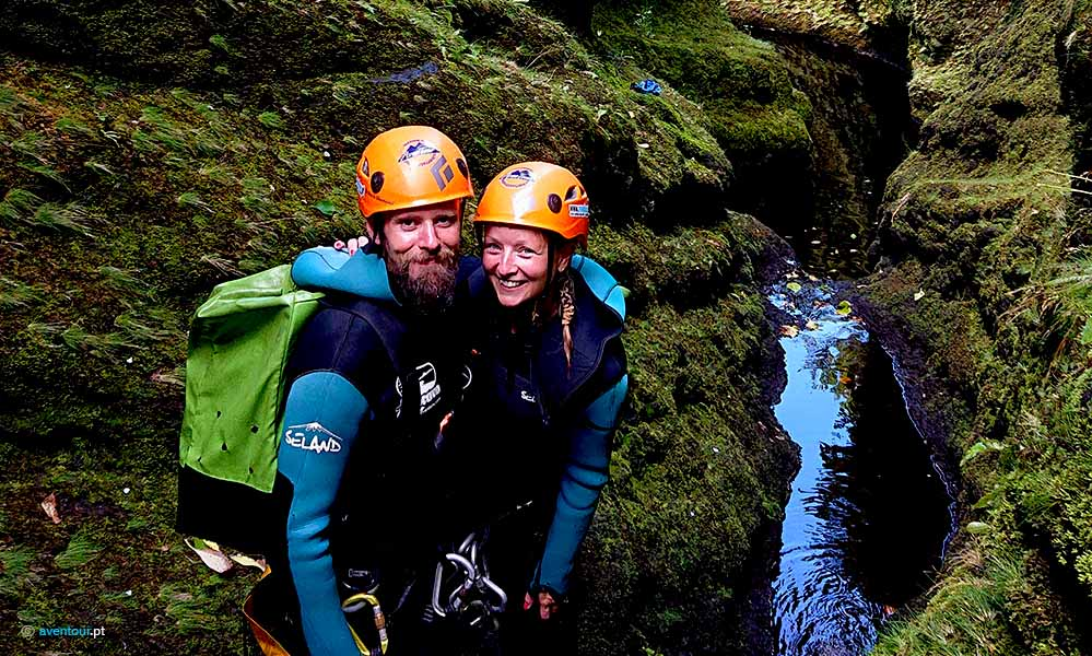 Canyoning Experience in Sao Jorge Island in Azores