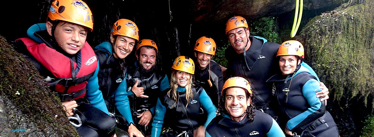 Canyoning Family in Azores