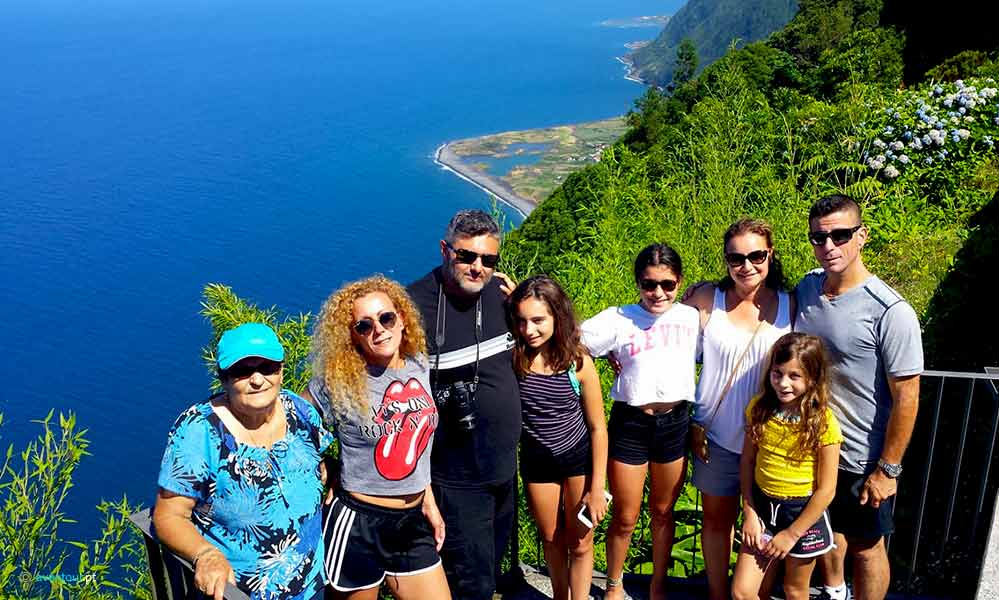 Tourn around the island in São Jorge Island in Azores